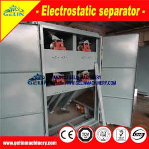 Complete Electricity System Triboelectric Separator to Produce Zro2 65-66% pictures & photos
