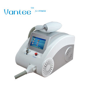 4.3 Inch Touch Screem Q Switch ND YAG Laser Machine with 3 Tips pictures & photos