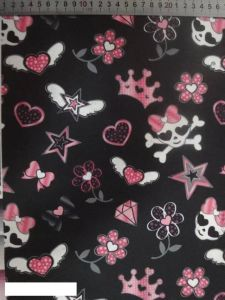 Crazy Cartoon Printing Polyester 600d Fabric for Bags! pictures & photos