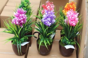 Artificial Plastic Plants and Flowers of Small Bonsai Plants Gu201708