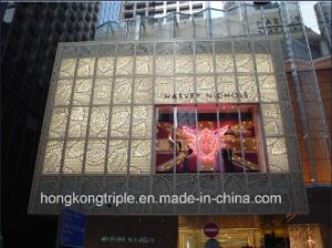 Customized Embossed Aluminum Ceiling Tiles and Embossed Curtain Wall