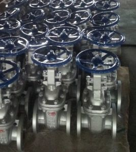 ASTM Wcb Flanged Gate Valve pictures & photos