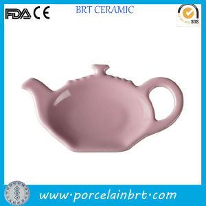Pot Shaped Wholesale Tea Cup and Tea Bag Holder pictures & photos