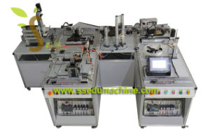 Flexible Manufacture System Fms Vocational Training Equipment Educational Stand