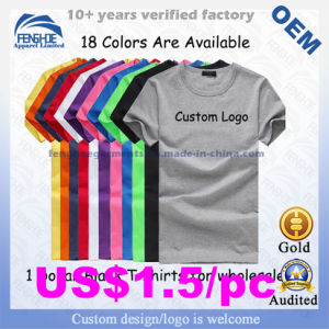 c409205ae2 21s/32s 100% Cotton Advertising T Shirt Wholesale China Promotional ...