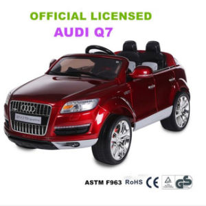 Official Licensed Audi Q7 Children Ride on Car 12V Battery Power Operated  Toys Car for Kids