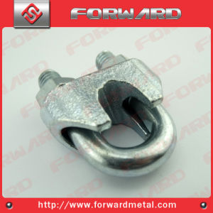 Us Type Malleable Wire Rop Lip Steel Cable Clamp pictures & photos