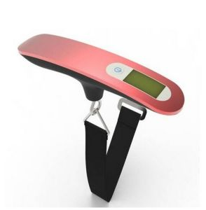 Fashion 50kg Stainless Steel Portable Electronic Luggage Scale