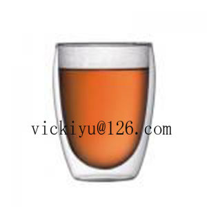 280ml Double Wall Glass Coffee Cup Tea Cup