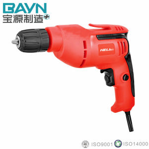 10mm 750W Classic Model Variable Speed Switch Electric Drill (10-10)