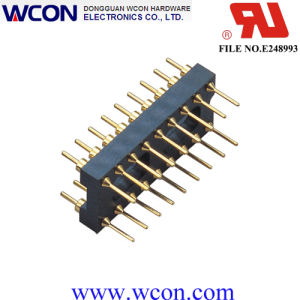 2.54mm H=3.0 7.62 Row Spacing Round Pin IC Male