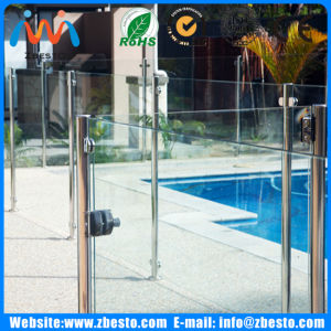 12mm 1200mm Custom Outdoor Pool Glass Fence with Low Price