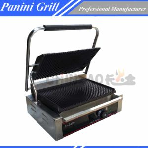 Sandwich Gril with Single Grooved Plate pictures & photos