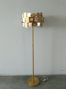 Modern Style Steel Muti-Colors Shade Floor Lamp (WH-3066F) pictures & photos