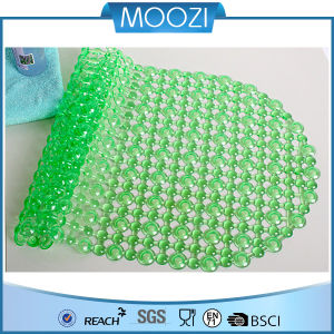 Green Popular 100% PVC Bath Mat Hot Selling 2014