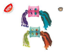 Pets Knotted TPR Ball Dog Toy pictures & photos