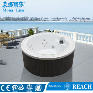 Economical Ordinary-Style Outdoor Massage SPA Round Tub (M-3380) pictures & photos