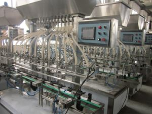Mzh - F8 Full Automatic Filling Machine for Bottle and Barrel pictures & photos