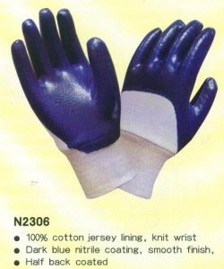 Nitrile Working Gloves with CE Approved pictures & photos