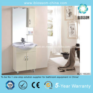 Home Furniture 4mm Silver Mirror Bathroom Vanity (BLS-16026C) pictures & photos