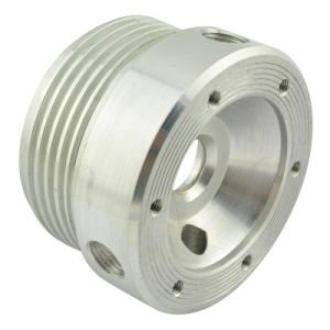 Aluminum CNC Machined Part of Moto Adapter pictures & photos