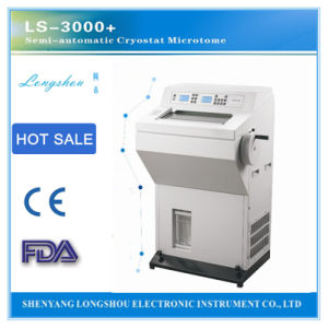 Histology Testing Equipment Longshou Semi Auto Freezing Microtome Ls-3000+ pictures & photos