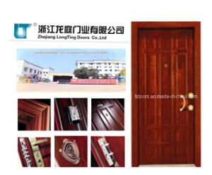 Turkey Armored Door with ISO Certificate Made in Yongkang pictures & photos