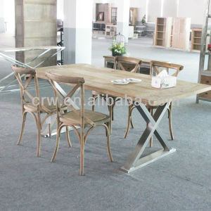 Dt-4010 Louis Dining Table French Provincial Furniture Elm Wood Dining Table pictures & photos