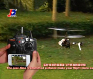 Real-Time Video Transmission The APP-Controlled Wireless Eagle-Ihelicopter WiFi RC Helicopter Android RC Helicopter (JXD352W)