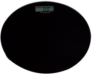 Black Glass Personal Digital Scale with Ce (HB3341)