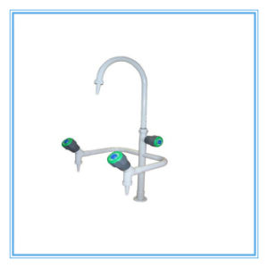 China Triple Way Lab Swan Neck Water Faucet (HL-SLT018) pictures & photos