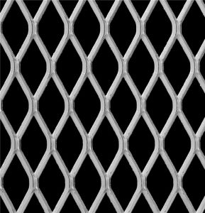 Expanded Metal Mesh of Raised or Flatted