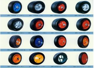 Plastic Solid Rubber Wheels (8X2.5) pictures & photos