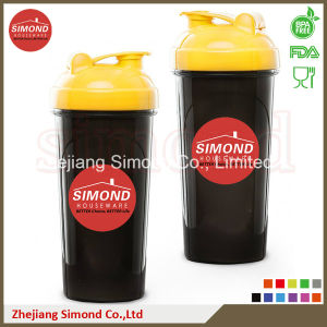 700ml Custom BPA Free Protein Shaker Bottle with Ball (SB7002) pictures & photos