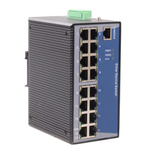 16 Port Web-Managed Industrial Ethernet Switch