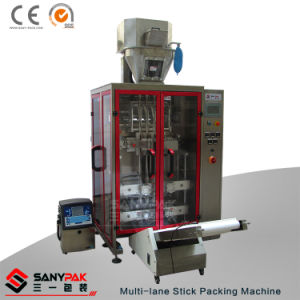Liquid Powder Granule Multi-Lane Stick Packing Machinery