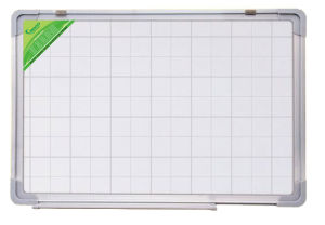 Single Side Magnetic White Board with Aluminium Frame Memo White Board