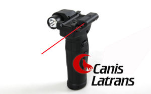 Tactical Hunting Airsoft Red Laser Grip Flashlight Cl15-0021 pictures & photos