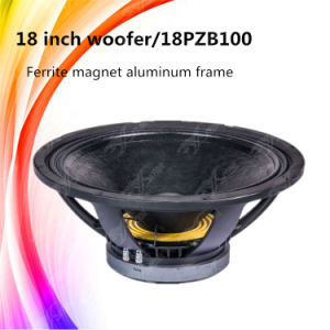 18pzb100 Super DJ Woofer Speaker 18 Inch Subwoofers for Sale pictures & photos