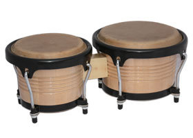 "7.5""-8.5"" Wood Bongo Drum (BD-100N) pictures & photos"