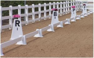 PVC Equestrian Equipment with Marker Letters pictures & photos