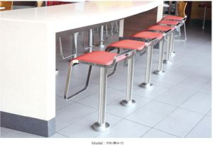Restaurant Furniture Bar Stool High Chair Wholesale (FOH-XM04-33) pictures & photos
