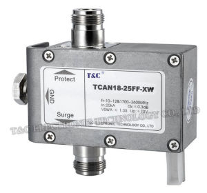Antenna Surge Protector/Surge Arrester (TCAN18-25FF-XW)