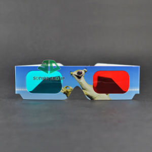 Paper Cyan Red 3D Glasses (SN3D 125)