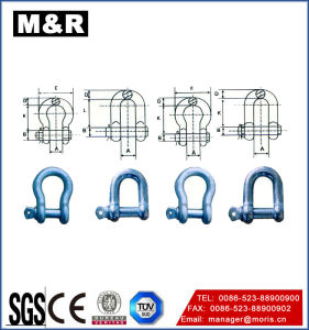 Screw Pin Chain Shackle, Hardware Lifting Shackle pictures & photos