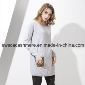 Women′s Pure Cashmere Knitwear with Pockets