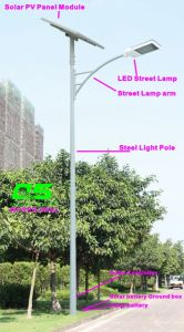 WPSRR-8902 3~15m Municipal Road Hot DIP Galvanized Steet Light Pole style pictures & photos