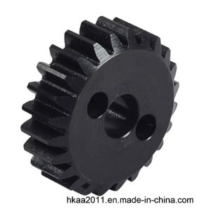 Black Oxide Steel Belt Pulley Gear for Transmission Gearbox pictures & photos
