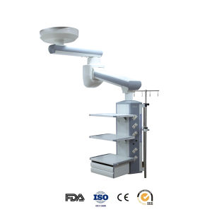 Electrical Double Arm Medical Pendant for ICU (HFP-240 380) pictures & photos