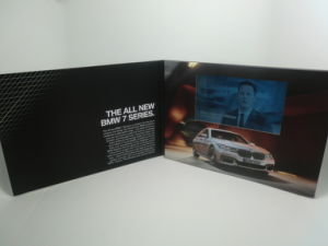 Hot Selling 5.0 Inch Video Greeting Card / Video Brochures / TV Brochures for Advertising pictures & photos